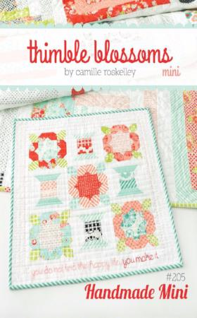Handmade MINI quilt pattern by Camille Roskelley of Thimbleblossoms
