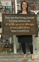 7/01/2018 (1pm) Custom Quote Large Framed Sign!