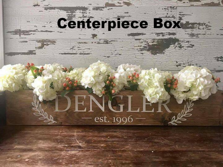 Centerpiece Box