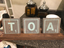 01/07/18 (12pm) Scrabble Tile Name Sign