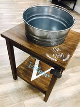Beer/Beverage Bucket Table