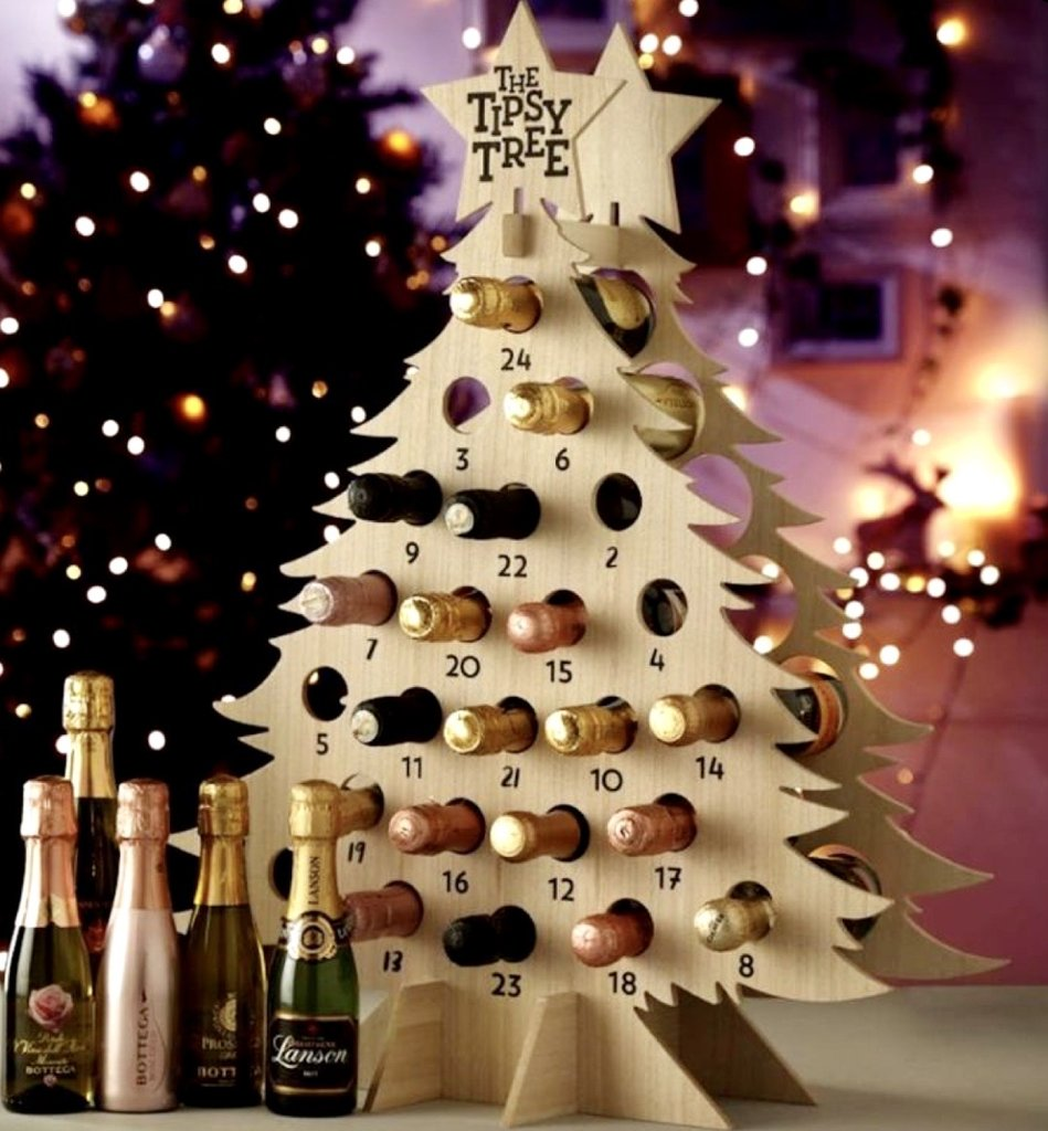 Wine Event Tree or Snowman