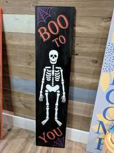4' Halloween Porch Signs