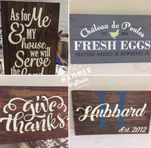 01/11/2018 (6:30pm) Pallet Sign Workshop