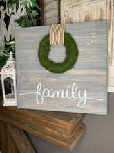 Moss Wreath Boards