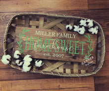 10/29/2017 (2pm) Tobacco Basket Farmhouse Sign