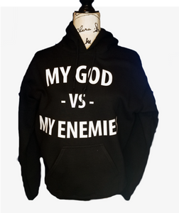 My God vs My Enemies  Hoodie