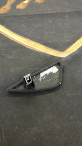 LAMBORGHINI GALLARDO PASSENGER RH INTERIOR DASHBOARD END COVER OEM 400857086