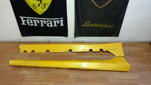 LAMBORGHINI GALLARDO LEFT AND RIGHT ROCKER PANEL MOLDING OEM 400853564 400853563