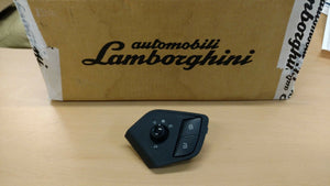 LAMBORGHINI AVENTADOR DOOR MIRROR CONTROL SWITCH PANEL OEM 470959565A 471837239