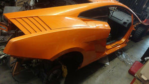 LAMBORGHINI GALLARDO PASSENGER RIGHT SIDE REAR QUARTER PANEL FENDER OE 408809604