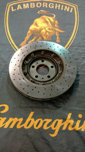LAMBORGHINI HURACAN GALLARDO LP560 R8 REAR RIGHT CARBON CERAMIC BRAKE DISC OEM