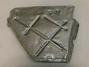 LAMBORGHINI HURACAN REAR RIGHT SIDE EXHAUST HEAT SHIELD COVER OEM 4S0825742A