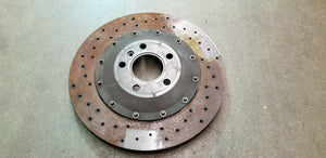 MCLAREN MP4-12C REAR BRAKE DISC ROTOR OEM PA2494-2429