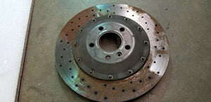 MCLAREN MP4-12C REAR BRAKE DISC ROTOR OEM PA2494-2429 LEFT OR RIGHT