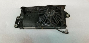 FERRARI 458 ITALIA REAR LEFT DRIVER SIDE OIL COOLER RADIATOR WITH FAN OEM 295371
