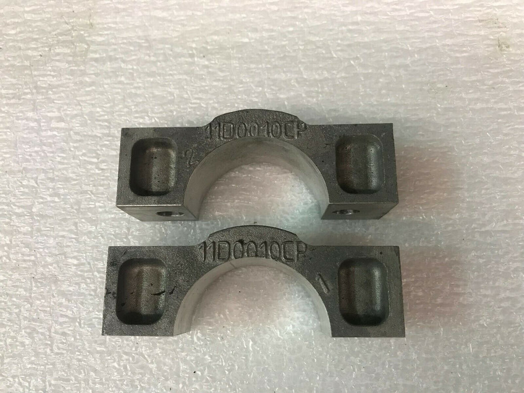 MCLAREN MP4-12C EXTERIOR CLAMP BRACKETS OEM 11D0010CP