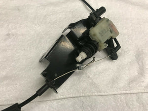 LAMBORGHINI HURACAN LP610 REAR LOCK LATCH W/ BOWDEN CABLE COMPLETE OEM 4T8827531
