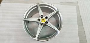 FERRARI 458 ITALIA COUPE SPIDER REAR WHEEL RIM OEM 255226