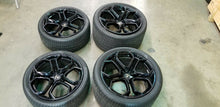 LAMBORGHINI AVENTADOR IPERIONE RIMS WHEELS SET OEM WITH TIRES AND CENTER CAPS
