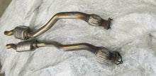 AUDI S4 MIDDLE EXHAUST MID RESONATOR FLEX DOWN PIPE FLEXPIPE SET OEM