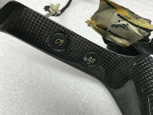 LAMBORGHINI MURCIELAGO CARBON FIBER SPEEDOMETER HOUSING WITH WIRE OEM 410858277A
