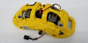 FERRARI 488 FRONT LEFT DRIVER CARBON CERAMIC BRAKE CALIPER YELLOW OEM 328368