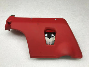 FERRARI 488 GTB SPIDER DRIVER LEFT LH LOWER DASH PANEL TRIM RED OEM 88026200