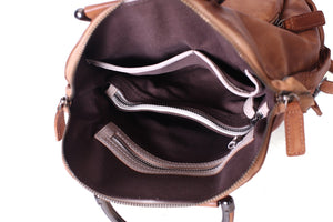 Handmade Full Grain Leather Backpack  WF57