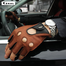 Spring Men's Genuine Leather Gloves