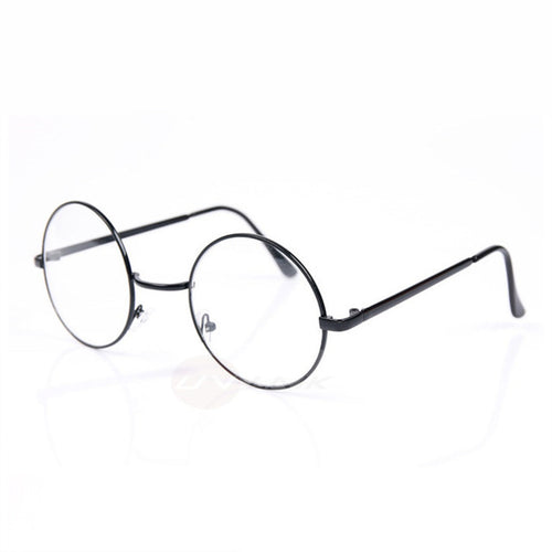 Unisex Round Transparent Glasses