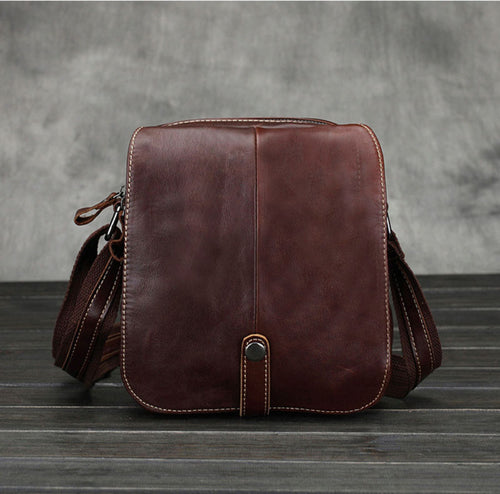 Vintage Genuine Leather Business Bag