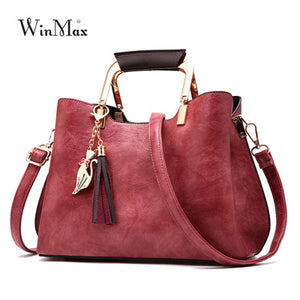 Winmax Leather Handbag