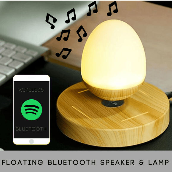 LED Light Levitating Bluetooth Wireless Speaker