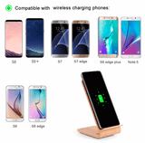 Wooden Grain Fast Wireless Charger