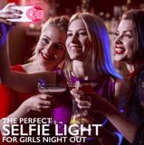 LED Flash Light Up Selfie Lamp