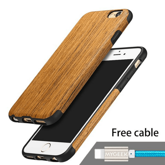Wood Cover iPhone Case