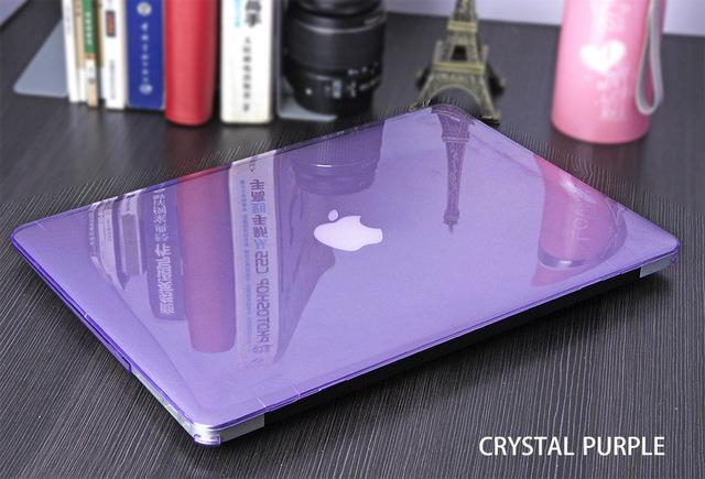 Crystal Matte Apple Mac book Cover