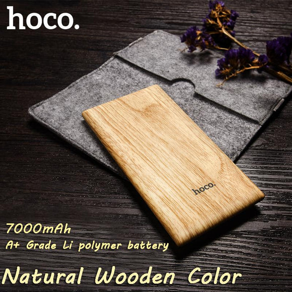Ultra Thin Wood Colour Power Bank