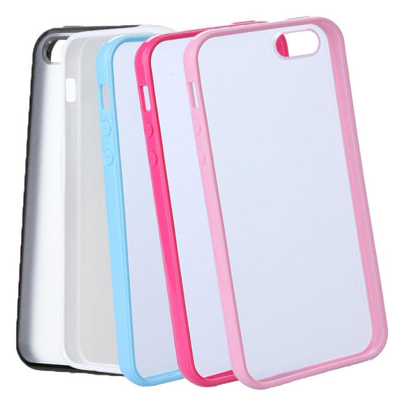 Colourful Soft Transparent Protective iPhone Back