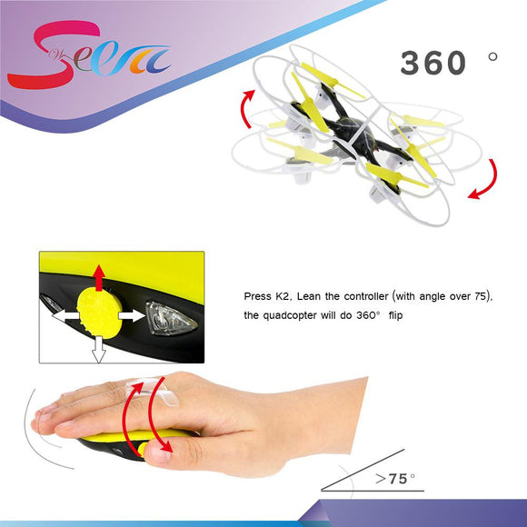 Hand Sense Motion Mini RC Quadcopter