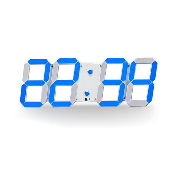 Large Digital 3D Led Wall Clock