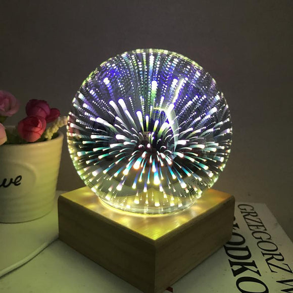 Fireworks 3D Led Nightlight Projector