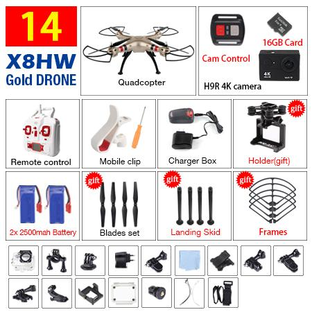 SYMA X8HW X8HG X8W X8 FPV RC Drone With 4K/1080P WIFI Camera HD Altitude Hold 6-Axis RTF Dron RC Quadcopter Helicopter VS MJX B3