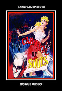 "ROGUE VIDEO - rare horror DVDs - cult films & fiction ""CARNIVAL OF SOULS""  (1962)"