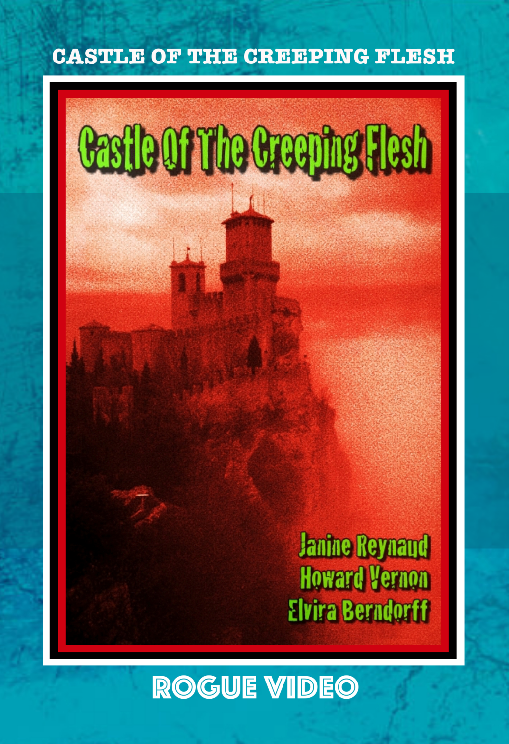 "ROGUE VIDEO - rare horror DVDs - cult films & fiction ""CASTLE OF THE CREEPING FLESH"" (1968)"