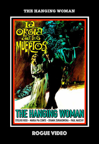 "ROGUE VIDEO - rare horror DVDs - cult films & fiction ""THE HANGING WOMAN"" (1973)"