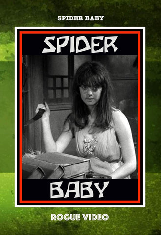 "ROGUE VIDEO rare horror DVDs / cult films & fiction: ""SPIDER BABY"""