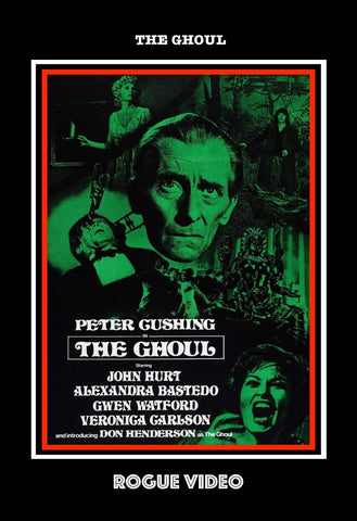 "ROGUE VIDEO rare horror DVDs / cult films & fiction: ""THE GHOUL"" Peter Cushing"
