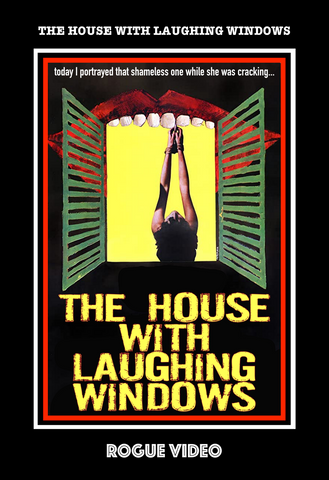 """The House With Laughing Windows"" rare horror DVDs - ROGUE VIDEO: cult films & fiction."